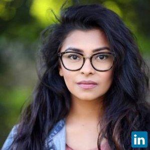 Sarah Khan's Profile on Staff Me Up